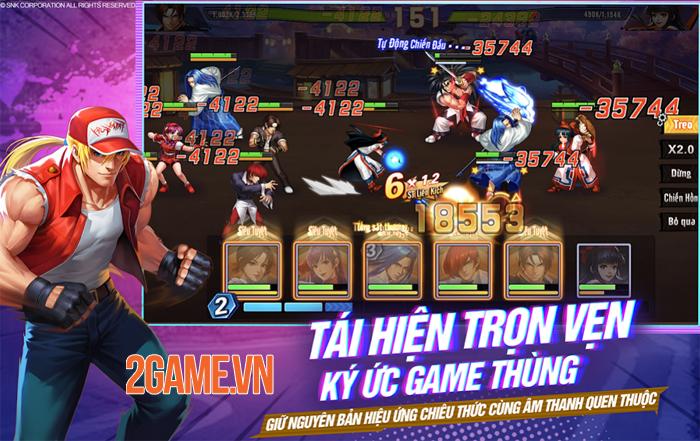 KOF AllStar VNG: Từ game thùng lên đời game console và giờ là game di động 3