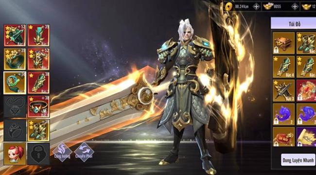 Kiếm Hồn 3D cho người chơi làm chủ hướng phát triển nhân vật không giới hạn