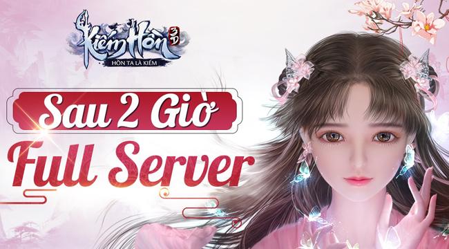 Server game Kiếm Hồn 3D bị lấp đầy chỉ sau 2 tiếng thử nghiệm