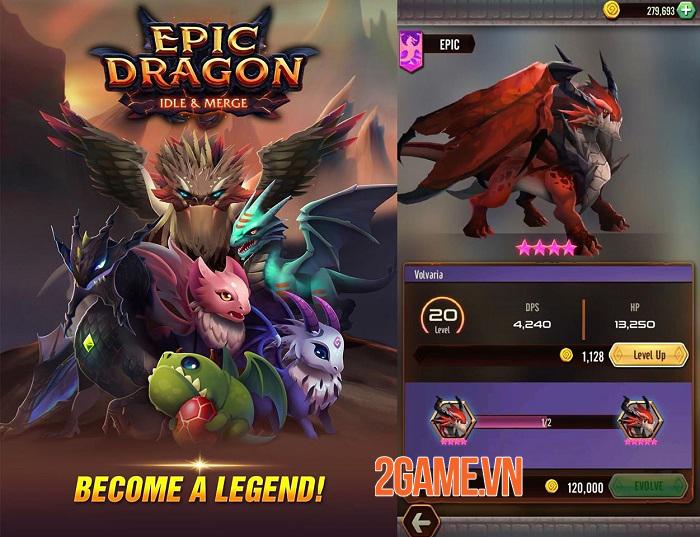 Dragon Epic - Huấn luyện và tiến hóa 20 con rồng độc nhất vô nhị 0