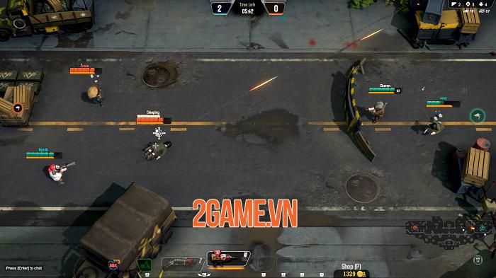 Veterans Online pha trộn hoàn hảo game bắn súng đi cảnh với các chế độ cạnh tranh 1