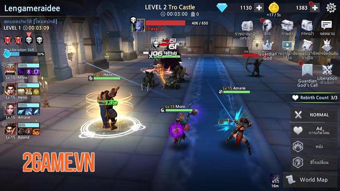 Infinite Rush - Game Idle RPG với phần nhìn và phần nghe đỉnh cao 0