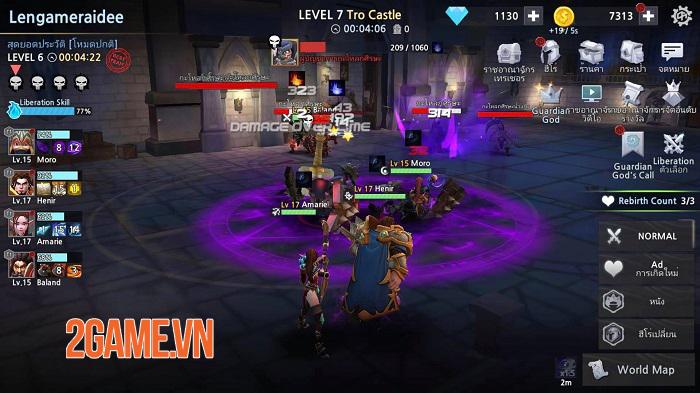 Infinite Rush - Game Idle RPG với phần nhìn và phần nghe đỉnh cao 2