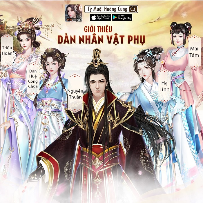 Nhân vật phản diện trong Tỷ Muội Hoàng Cung cũng khiến game thủ xiêu lòng 2