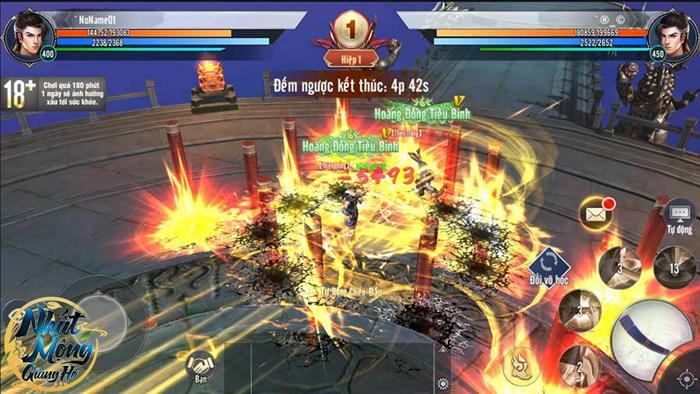 Game Nhất Mộng Giang Hồ tái hiện nhiều võ học nổi tiếng của Kim Dung 3