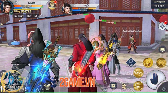 Game Nhất Mộng Giang Hồ tái hiện nhiều võ học nổi tiếng của Kim Dung 0