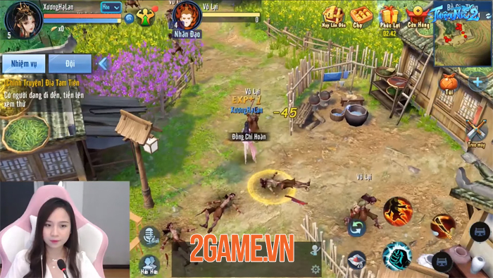 Chạm tay vào Thiện Nữ 2 Mobile thấy lạ từ hình ảnh, mới về nội dung 7
