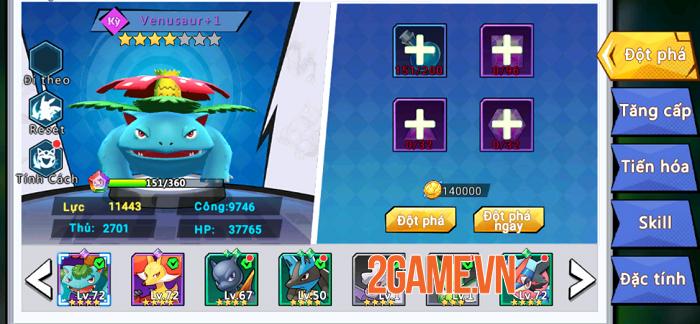 Thỏa sức tùy biến trận hình theo chiến thuật riêng trong Thần Thú 3D 3