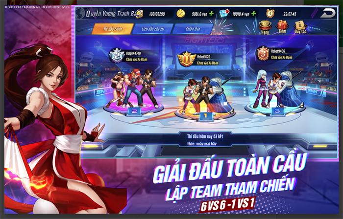 KOF AllStar VNG - Quyền Vương Chiến sẽ do ông lớn VNG Games phát hành 3