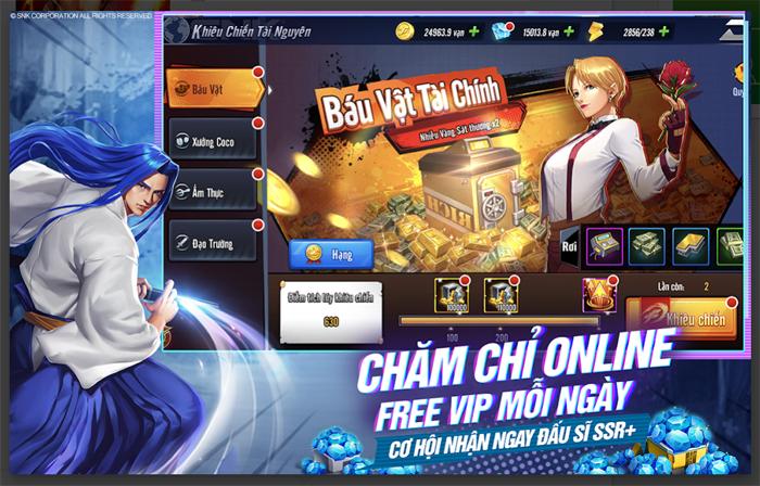 KOF AllStar VNG - Quyền Vương Chiến sẽ do ông lớn VNG Games phát hành 2