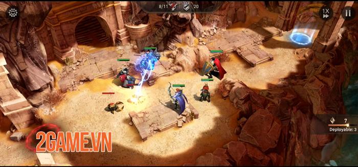 War of Embers - Game nhập vai chiến thuật cực kỳ sáng tạo trên mobile 0