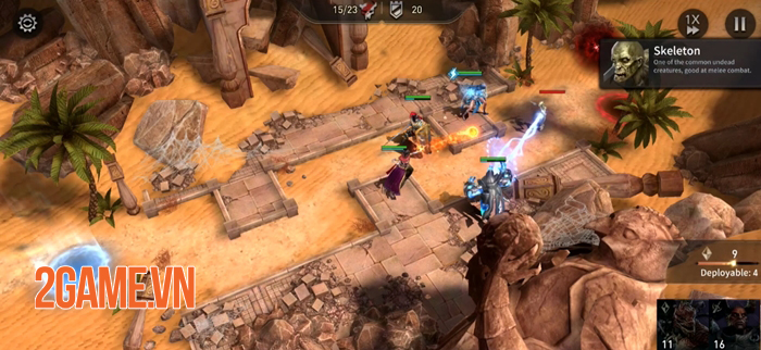 War of Embers - Game nhập vai chiến thuật cực kỳ sáng tạo trên mobile 2