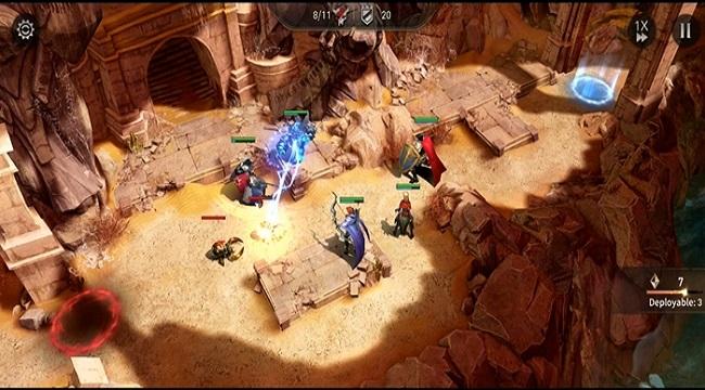 War of Embers – Game nhập vai chiến thuật cực kỳ sáng tạo trên mobile