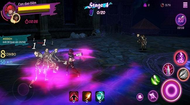 Game hành động A Tag Knight ra mắt ngôn ngữ tiếng Việt