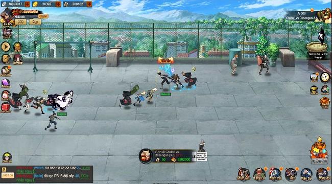 Game Hỏa Chí Anh Hùng vừa dễ chơi lại còn chuẩn nguyên tác Naruto