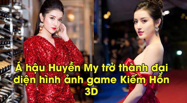 Á Hậu lấn sân làng game, bắt tay Kiếm Hồn 3D tạo bom tấn thương hiệu