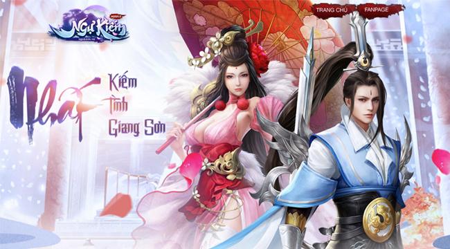 Ngự Kiếm Mobile ra mắt trang chủ, công bố thời điểm mở game 1