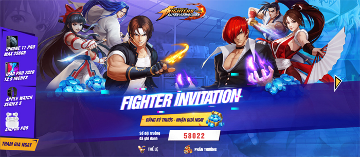 KOF AllStar VNG - Quyền Vương Chiến sẽ do ông lớn VNG Games phát hành 0