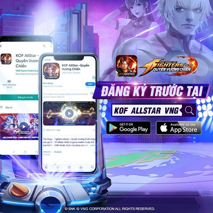KOF AllStar VNG – Quyền Vương Chiến chính thức mở đăng ký trước 0