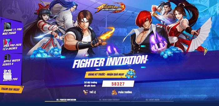 KOF AllStar VNG – Quyền Vương Chiến chính thức mở đăng ký trước 2
