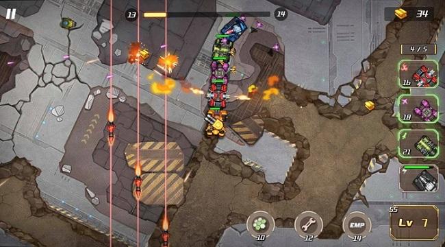 Mad Warcar 2077 – Game game đi cảnh 2D góc nhìn từ trên xuống thú vị