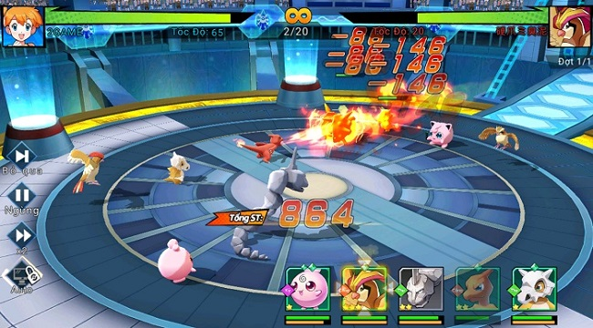Chẳng thể cưỡng lại cơ chế chiến đấu liên trảm đặc sắc của Thần Thú 3D