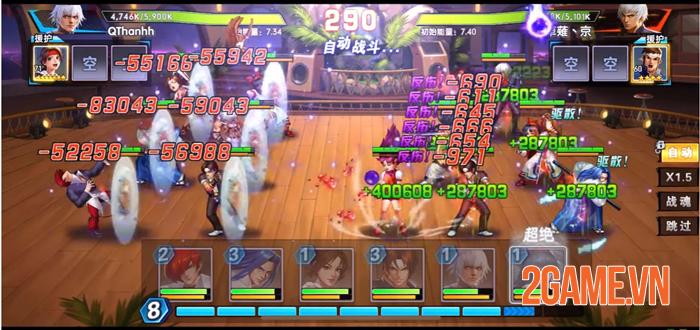 KOF AllStar VNG - Quyền Vương Chiến là sân chơi lớn có quy mô toàn cầu 1