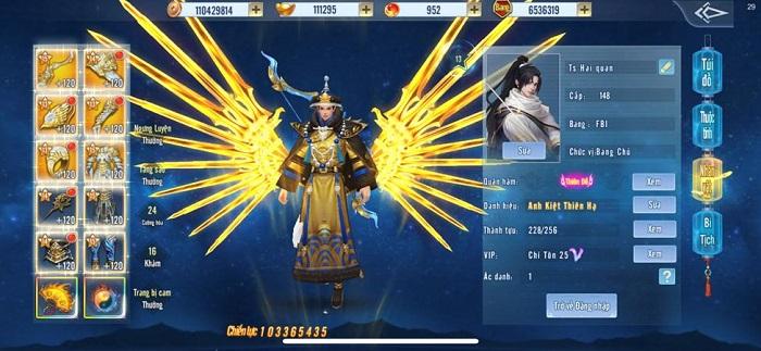 Ts Hai quan trở thành game thủ Tình Kiếm 3D đầu tiên đạt 100 triệu lực chiến 1
