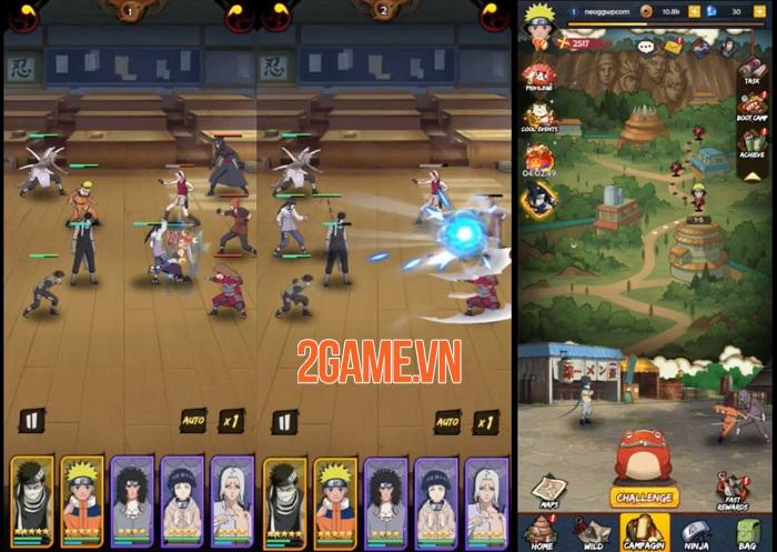 Unlimited Ninja - Game thẻ bài nhập vai nhàn rỗi giúp tiết kiệm thời gian 0