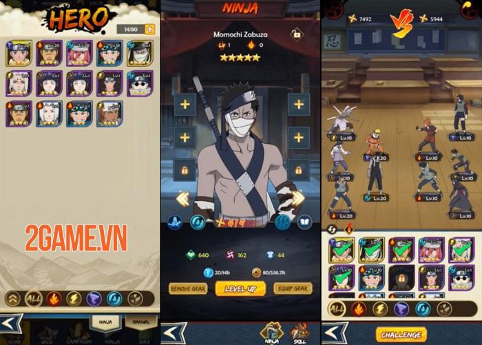 Unlimited Ninja - Game thẻ bài nhập vai nhàn rỗi giúp tiết kiệm thời gian 1