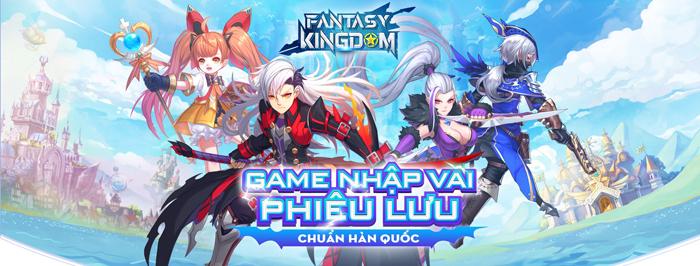 Game nhập vai phiêu lưu chuẩn Hàn Quốc - Fantasy KingDom M: Thánh Địa Huyền Bí về Việt Nam 2