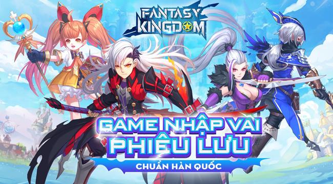 Game nhập vai phiêu lưu chuẩn Hàn Quốc – Fantasy KingDom M: Thánh Địa Huyền Bí về Việt Nam