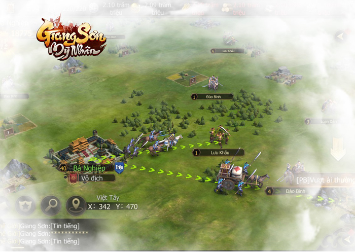 Tặng 666 giftcode game Giang Sơn Mỹ Nhân Mobile 1