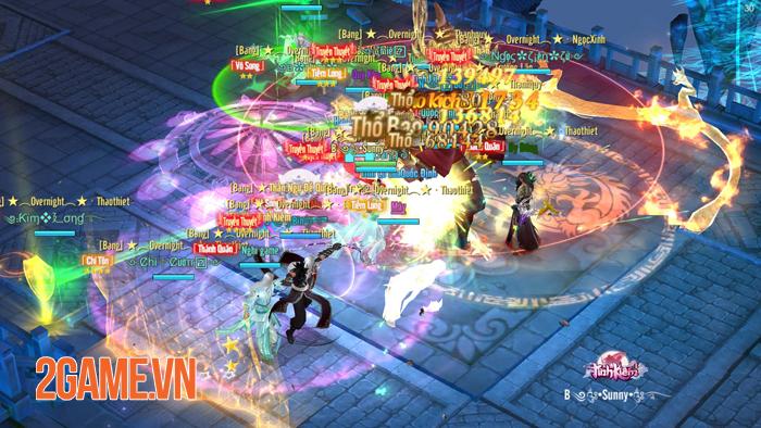Tình Kiếm 3D thời 2020 là cuộc chiến mang tầm liên server 5