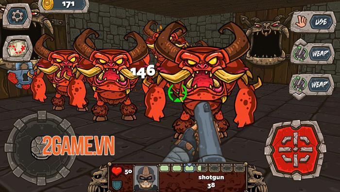 Demon Blast - Game bắn súng thành công trên PC được phát hành trên mobile 0