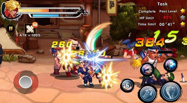 Kung Fu Attack 4 – Shadow Legends Fight: Game hành động retro lối chơi sáng tạo