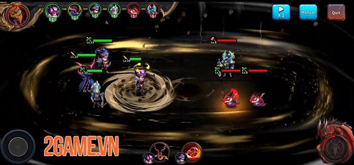Runelords Arena - Game nhập vai đánh theo lượt với các chiến thuật độc đáo 0