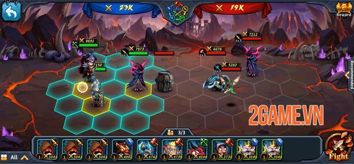 Runelords Arena - Game nhập vai đánh theo lượt với các chiến thuật độc đáo 2