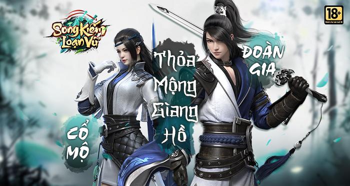 Game nhập vai kiếm hiệp Song Kiếm Loạn Vũ sẽ được VGP phát hành tại Việt Nam 1