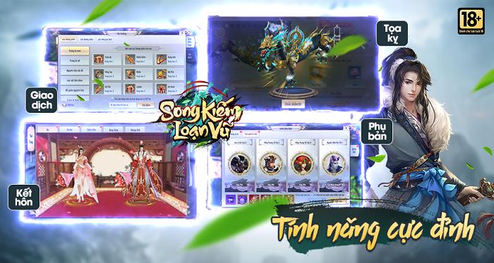 Game nhập vai kiếm hiệp Song Kiếm Loạn Vũ sẽ được VGP phát hành tại Việt Nam 2