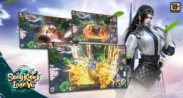 Game nhập vai kiếm hiệp Song Kiếm Loạn Vũ sẽ được VGP phát hành tại Việt Nam 3