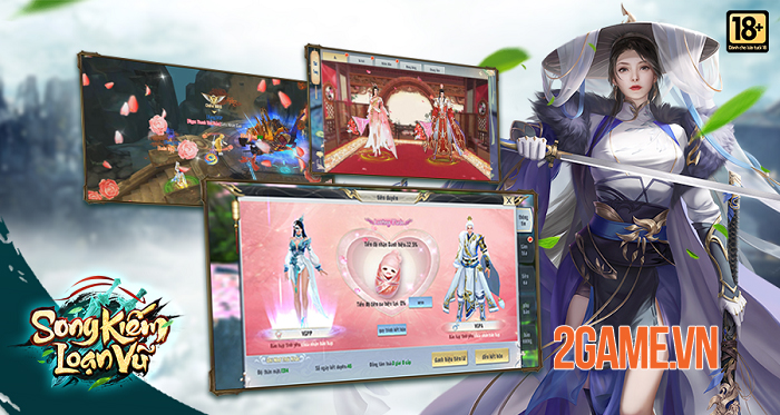 Game nhập vai kiếm hiệp Song Kiếm Loạn Vũ sẽ được VGP phát hành tại Việt Nam 5