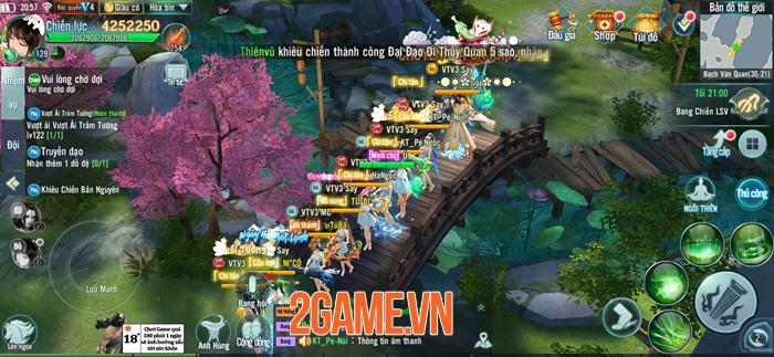 Nhất Kiếm Giang Hồ đưa hành trình Võ lâm khi xưa trở lại trên Mobile 2