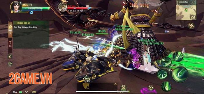 Ngự Kiếm Mobile cho săn Boss thả ga nhưng chớ nên chủ quan nếu không muốn sấp mặt 2