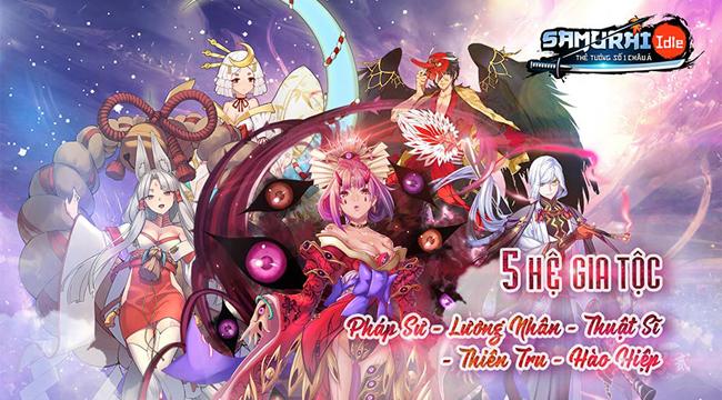 Samurai Idle sắp được VNG Games cho ra mắt toàn khu vực Đông Nam Á