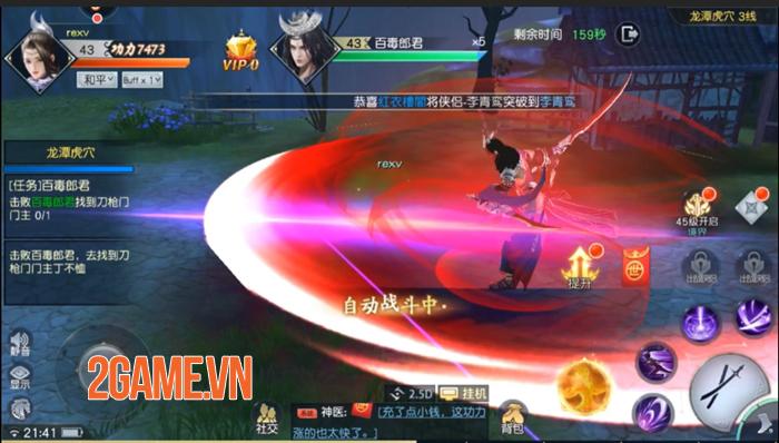 Game nhập vai kiếm hiệp 3D Phong Lăng Thiên Hạ về Việt Nam 3