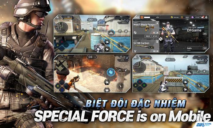 VTC Game mua game đấu súng Special Force M thành công 0