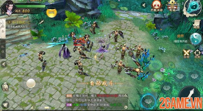 Game nhập vai tiên hiệp giả tưởng Thần Kiếm 3D cập bến Việt Nam 1