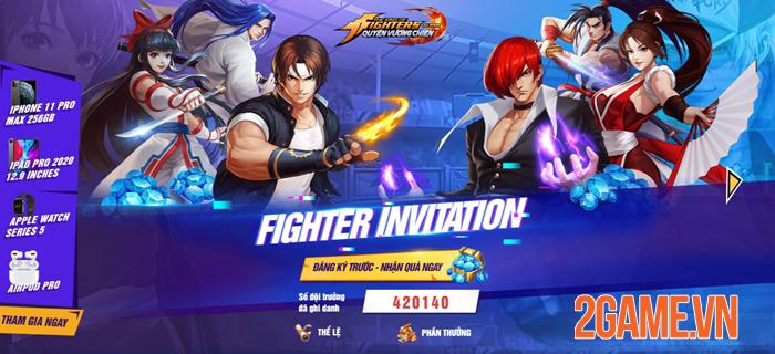 KOF AllStar VNG - Quyền Vương Chiến ấn định ngày ra mắt 0