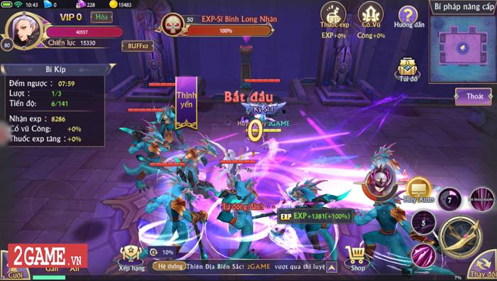 Fantasy KingDom M đưa ra 4 lớp nhân vật với mỗi người một kiểu biến hình khác biệt 3